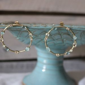 Anthropologie earrings with posts as shown